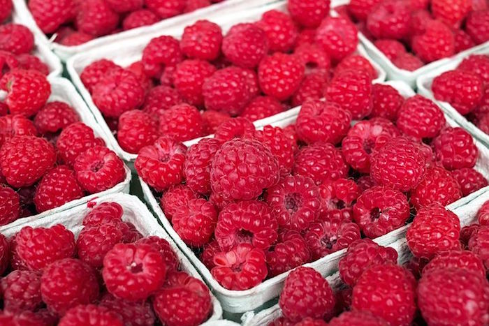 Les fruits rouges, aliments anti cellulite.