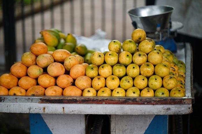 Les fruits dans le régime sati.