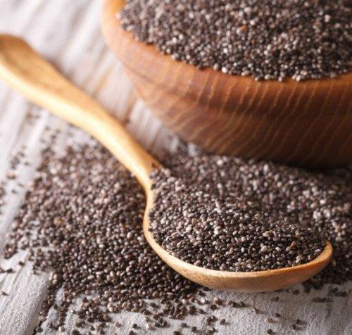 Les graines de chia sont des super aliments.