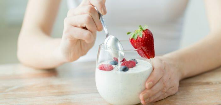 Idées de menu pour suivre le régime yaourt
