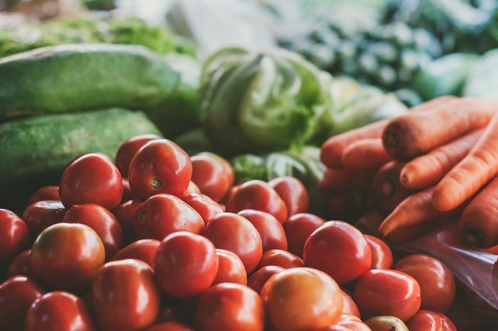 Légumes du régime keto.