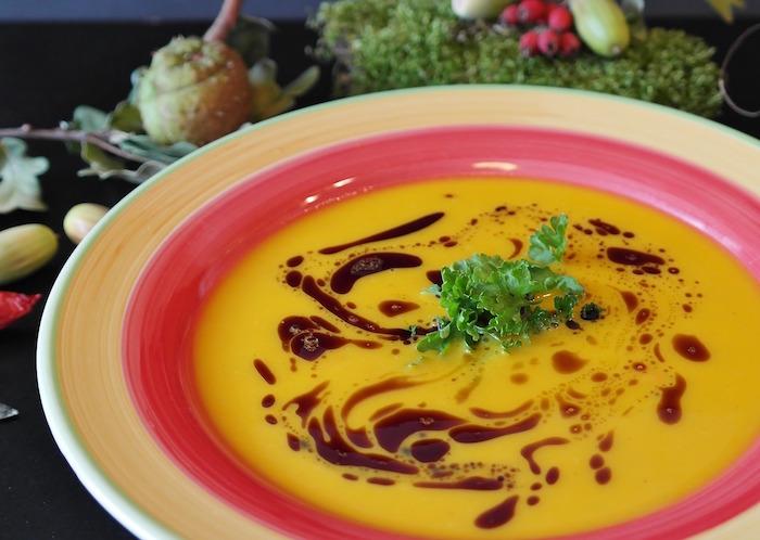 Soupe brûle graisse cookeo : préparation.