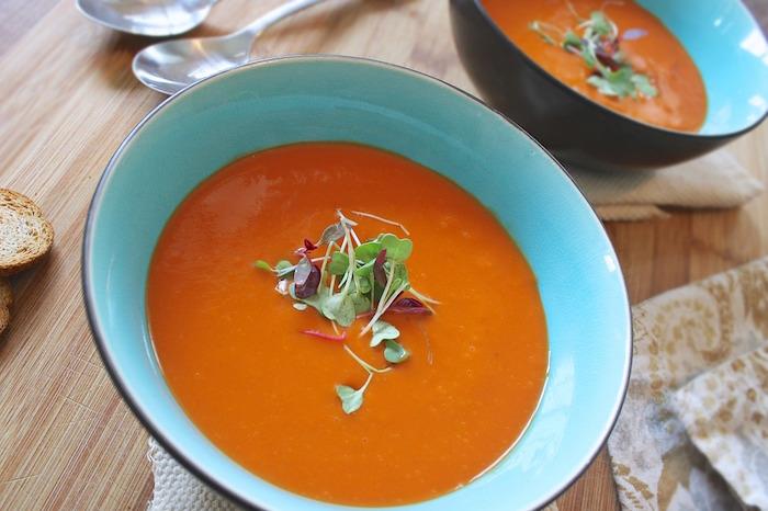 Soupe brûle graisse thermomix : ingrédients.
