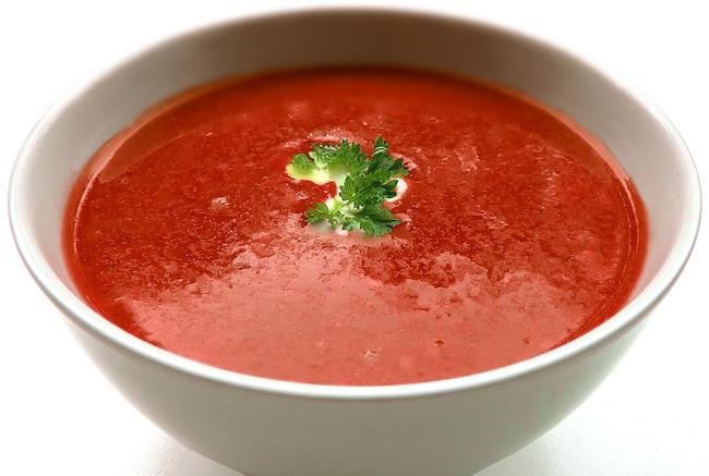 Soupe brûle graisse thermomix à la tomate.